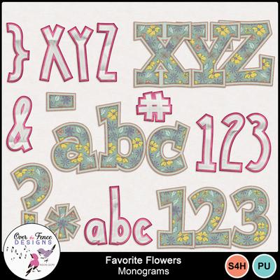 Nefavorite_flowers_monograms