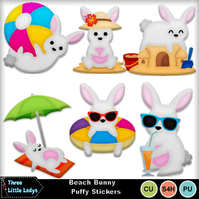 Beach_bunny_puffy_stickers-tll