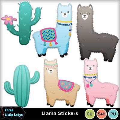 Llama-stickers-tll