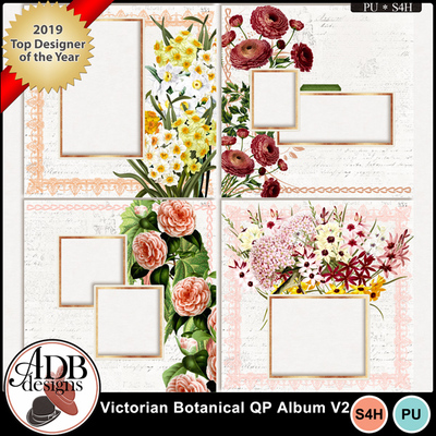Housewife-mm-adb-hr-victorian-botanical-quick-page-album-vol-02