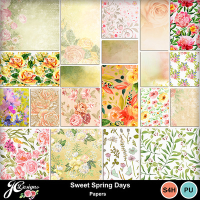 Sweet-spring-days-papers
