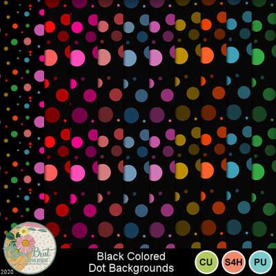 Blackcoloreddots