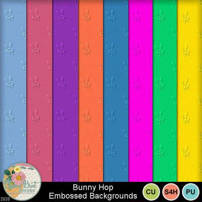Bunnyhopembossed