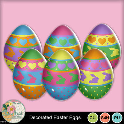 Decoratedeastereggs