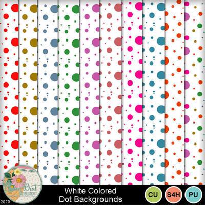 Whitecoloreddots