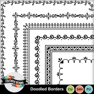 Lisarosadesigns_doodledborders