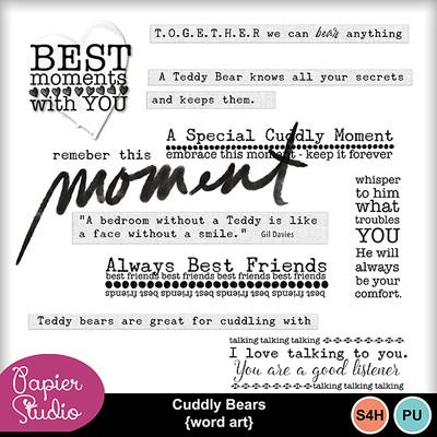 Cuddly_bears_wordart_pv