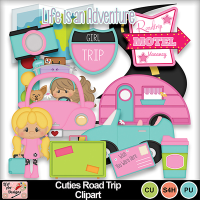 Cuties_road_trip_clipart_preview