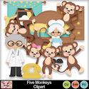 Five_monkeys_clipart_preview_small