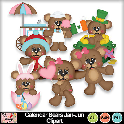 Calendar_bears_jan-jun_clipart_preview