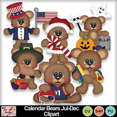 Calendar_bears_jul-dec_clipart_preview