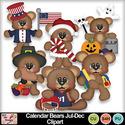 Calendar_bears_jul-dec_clipart_preview_small