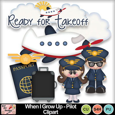 When_i_grow_up_pilot_clipart_preview