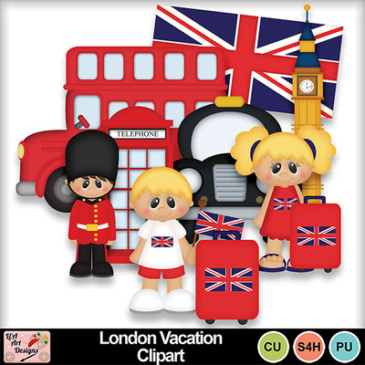 London_vacation_clipart_preview