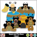 Bears_and_the_bees_clipart_preview_small