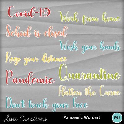 Pandemicwordart