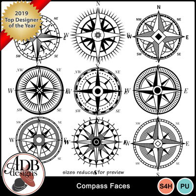 Compass_faces_stamps