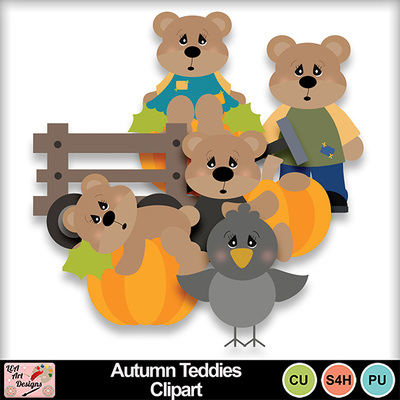 Autumn_teddies_clipart_preview