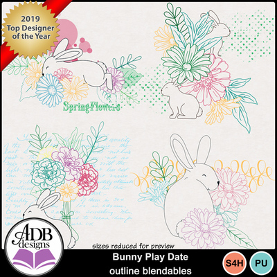 Bunny_play_date_outline_blendables