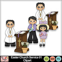 Easter_church_service_01_clipart_preview_small