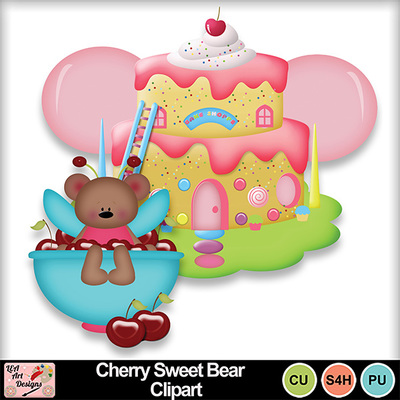 Cherry_sweet_bear_clipart_preview