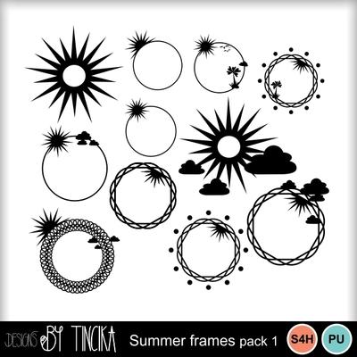 Summer_frames_pack_1