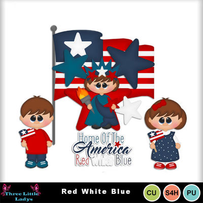 Red-white-blue--tll