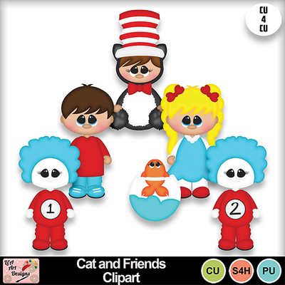 Cat_and_friends_clipart_preview