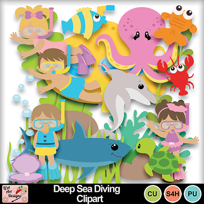 Deep_sea_diving_clipart_preview