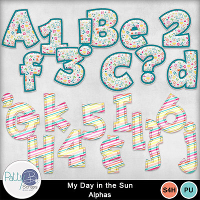 My_day_in_the_sun_monograms