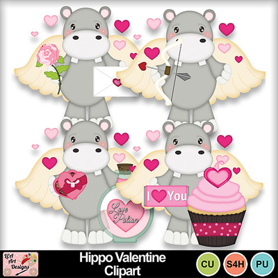 Hippo_valentine_clipart_preview