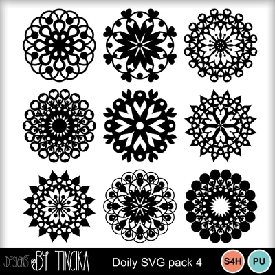 Doily_svg_pack_4