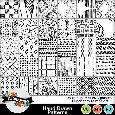 Lisarosadesigns_handdrawnpatterns_fullpreview