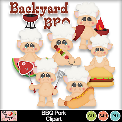 Bbq_pork_clipart_preview