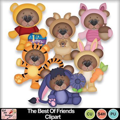 The_best_of_friends_clipart_preview