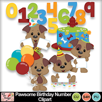 Pawsome_birthday_numbers_clipart_preview