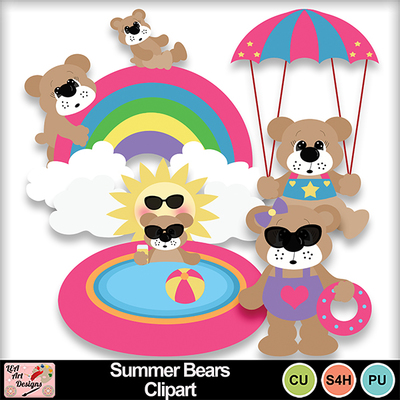 Summer_bears_clipart_preview