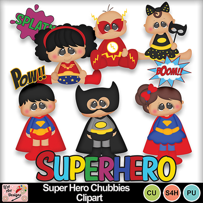 Super_hero_chubbies_clipart_preview