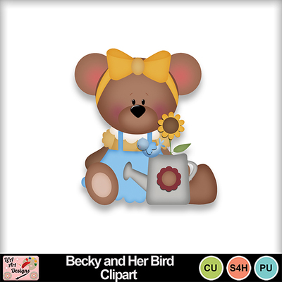 Becky_and_her_bird_clipart_preview