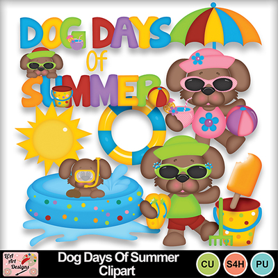 Dog_days_of_summer_clipart_preview