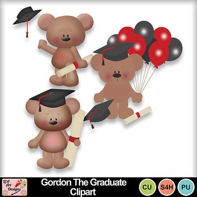 Gordon_the_graduate_clipart_preview