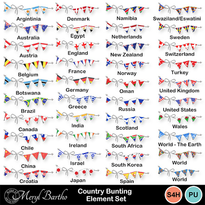 Country-bunting