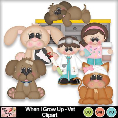 When_i_grow_up_vet_clipart