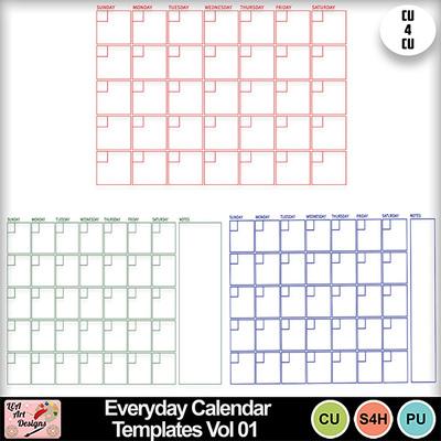 Everyday_calendar_templates_vol_01_preview