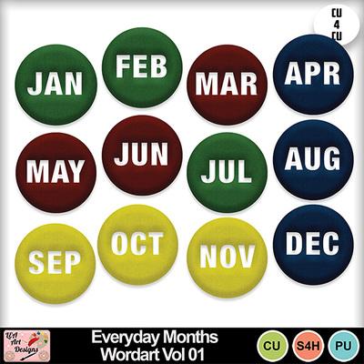 Everyday_months_wordart_vol_01_preview
