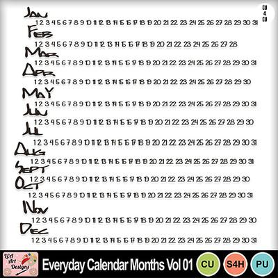 Everyday_calendar_months_vol_01_preview