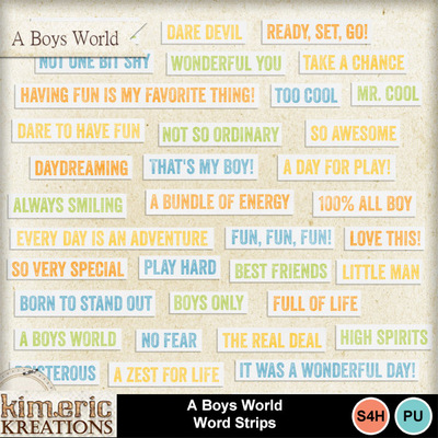 A_boys_world_word_strips
