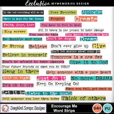 Encourage_me_word_strips