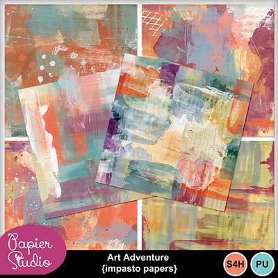 Art_adventure_impasto_papers