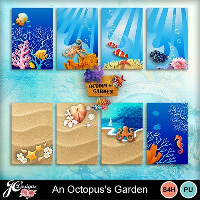 An_octopus_s_garden-journal_cards